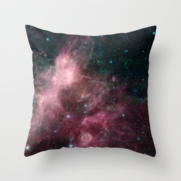 Life and Death Intermingled Throw Pillow