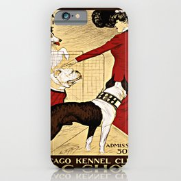 Chicago Kennel Club's Dog Show (1902) iPhone Case