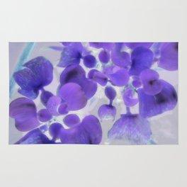 Flower | Flowers | Purple Water Plant Rug