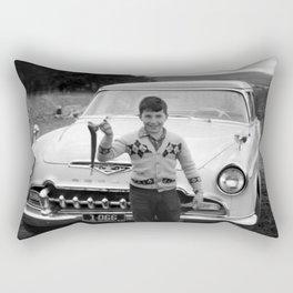 A Proud Catch Rectangular Pillow