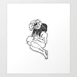 Love yourself IV Art Print