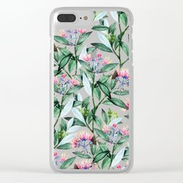 Floral Cure #society6 #decor #buyart Clear iPhone Case