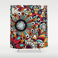 Penelope. Shower Curtain