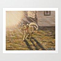 Chloe Sunshine Art Print