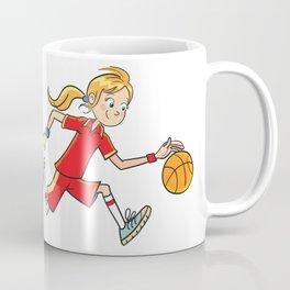 Basket Girl Coffee Mug