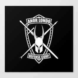 Anor Londo Defense Corp Canvas Print