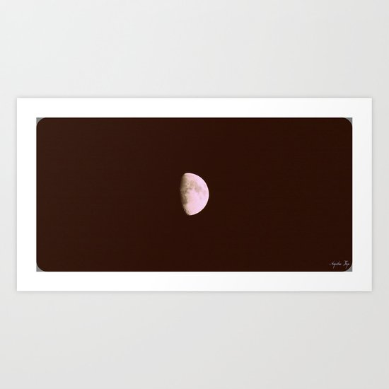 Moon in Sagittarius Art Print