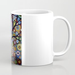 Abstract Landscape Original Painting...VISIONS OF NIGHT, by Amy Giacomelli Coffee Mug