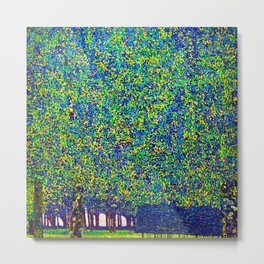 Gustav Klimt The Park Metal Print