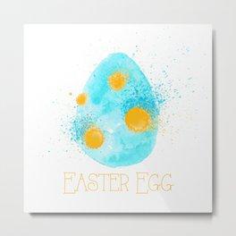 Easter Egg Metal Print