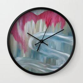 Love by Lu Wall Clock