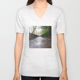 Water of Leith Edinburgh 1 Unisex V-Neck