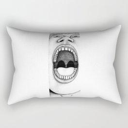 Aah! Rectangular Pillow