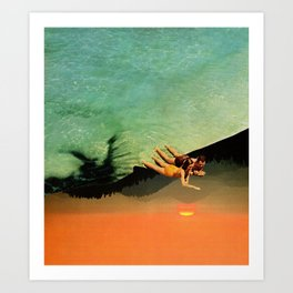 Holiday in the Sun Art Print
