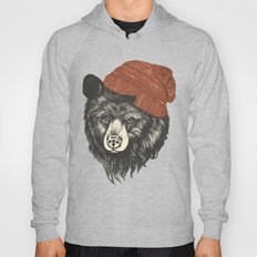 zissou the bear Hoody