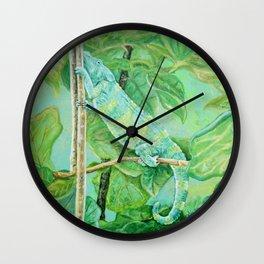 Meller's Yoga Wall Clock