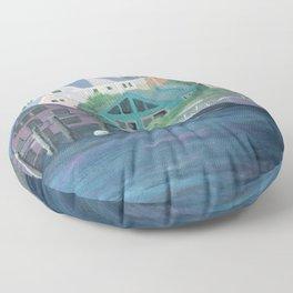 Rocky Neck Floor Pillow