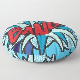 BANG Comic Book Pop Art Cool Fun Graphic Floor Pillow