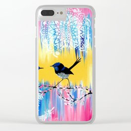 happy art Clear iPhone Case