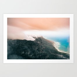 Table Mountain, South Africa Art Print