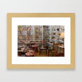 Cluttered Mind Framed Art Print