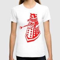 dalek T-shirts featuring Dalek by InvaderDig
