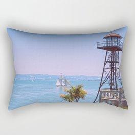 Beautiful Alcatraz Rectangular Pillow