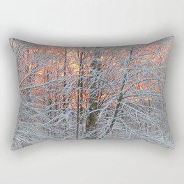 Winter Morning Rectangular Pillow