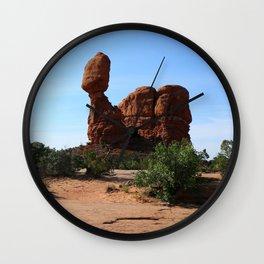 Balanced Rock Wall Clock