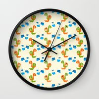 dino Wall Clocks featuring Dino by Elettra