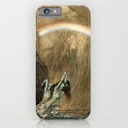 "Arthur Rackham Watercolor for Wagner's ""The Ring"" iPhone Case"