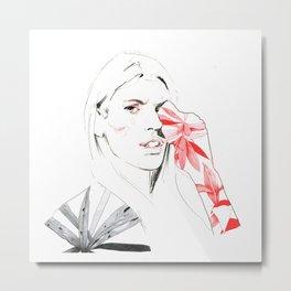 Migraine Metal Print