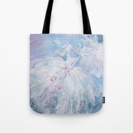 Tutus' in Aqua Tote Bag