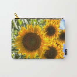 Sunflowers Summer Days Carry-All Pouch