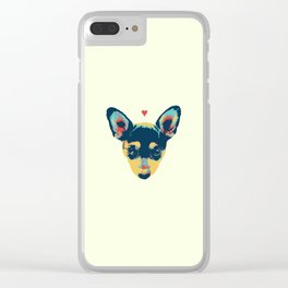 Pet Thoughts Clear iPhone Case