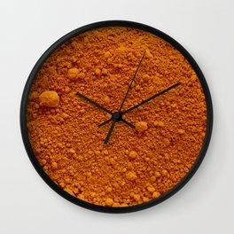 Naranja Absoluto Wall Clock