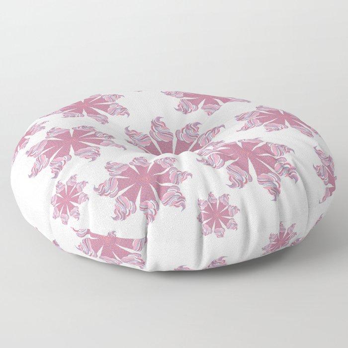 Ice Cream Cone Swirls Floor Pillow