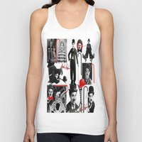 charlie Tank Tops featuring CHARLIE by BLUE VELVET DESIGNS