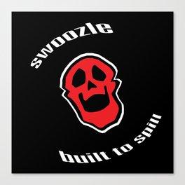 Swoozle Skull Buddy Canvas Print