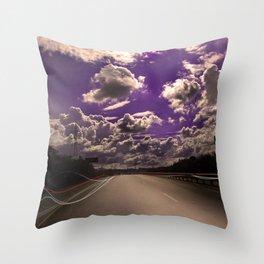 Nicosia - Limassol Throw Pillow