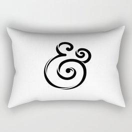 InclusiveKind Ampersand Rectangular Pillow