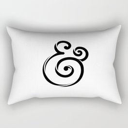 InclusiveKind Ampersand Rectangular Pillow