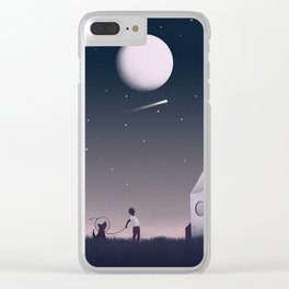 Keep Dreaming Clear iPhone Case