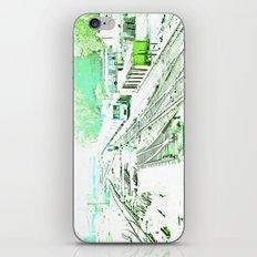 Train oblivion. iPhone & iPod Skin