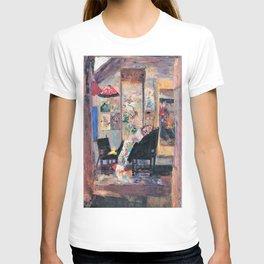 Skeleton looks at chinoiseries - James Sidney Edouard Baron Ensor T-shirt