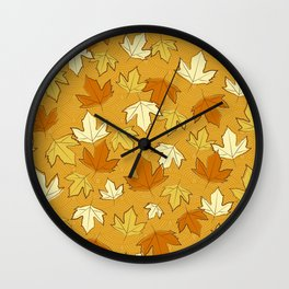 Autumn Love Wall Clock