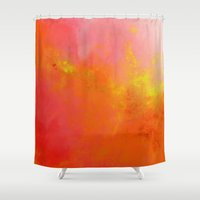namaste Shower Curtains featuring Namaste by SABartStudio