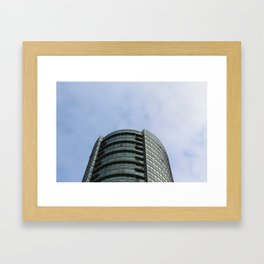 Burnaby condo tower Framed Art Print