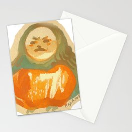 bread bird pal Stationery Cards