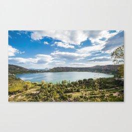 Averno lake,Capania,Italy Canvas Print